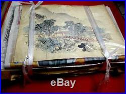 16-420 RARE Japanese Carving WOODBLOCK of Woodblock print book SOBUN