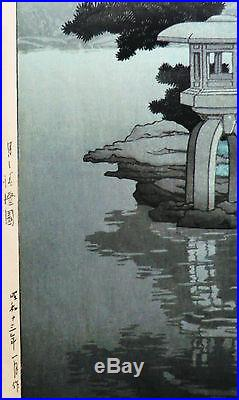 Beautiful Japanese Woodblock Print by Kawase Hasui