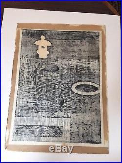 Excellent kiyoshi Saito Japanies Woodblock Print