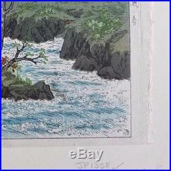 Ito Takashi 1949 Japanese Woodblock Print Authentic Ukiyoe