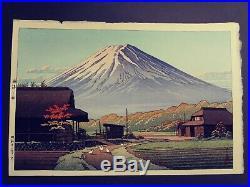 Japanese Woodblock Print Hasui Kawase