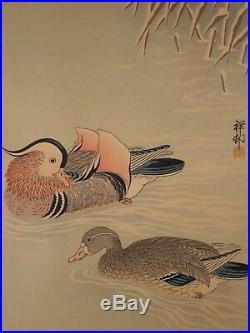 Japanese Woodblock Print Ohara Koson Shoson
