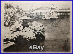 Japanese wood block Print Fine Art Asian Chinese Oriental woodblock