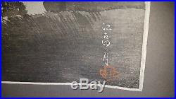 Japanischer-Farbholzschnitt- Old Japanese Woodblock print Takahashi Shotei