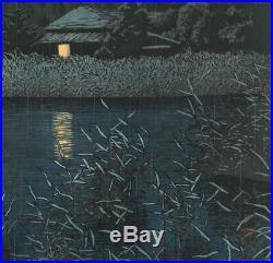 Kawase Hasui HKS-14 Ame no Omiya Japanese Traditional Woodblock Print