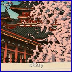 Kawase Hasui Japanese Woodblock print Ukiyo-e Ukiyoe Rare Vintage Collector