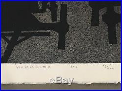 Kiyoshi Saito Hokkaido (c) Vintage Japanese Woodblock 1961