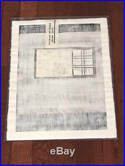 Kiyoshi Saito Window Japanese Woodblock Print Limited Edition 20/100