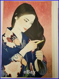 Paul Binnie Japanese Woodblock Print Summer 5/50