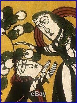 SADAO WATANABE Woman of Canaan Christian Buddhist Japanese mingei print
