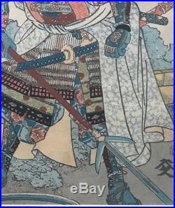 Utagawa Kuniyoshi Japanese Woodblock Print Ukiyoe