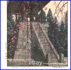 Yoshida Toshi #015103 Tsurigane do Japanese Woodblock Print